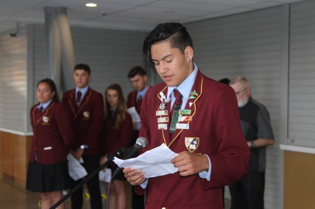 Manaakitia Hoepo, 17, from Kaitaia College, will be the Inspiring SGCNZ Alumnus speaker at the National University of Otago Sheilah Winn Shakespeare Festival next month.