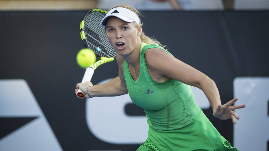 Wozniacki races to victory in Auckland Classic opener