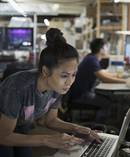 More than 120,000 people were employed in the tech sector last year and about 14,000 new jobs were created. Picture / Getty Images