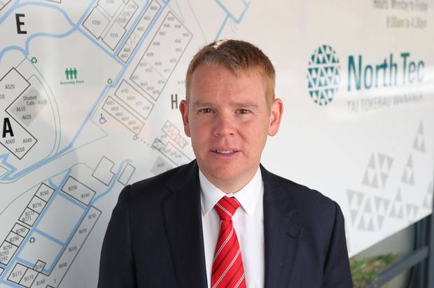Education Minister Chris Hipkins has lurched in the opposite direction to the changes signalled last year. Photo / File