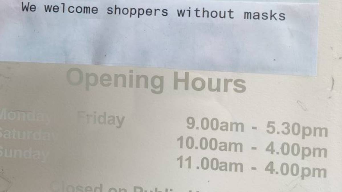 Covid 19 Delta outbreak: Wellington business owner removes sign welcoming maskless customers