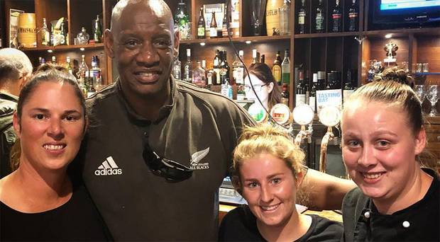 Shaun 'the Dark Destroyer' Wallace wowed patrons during quiznight at The Horse & Trap. Photo / The Horse & Trap / Facebook
