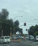 Fire crews have been called to a massive house fire in Takapuna. Photo / Richard Muirhead