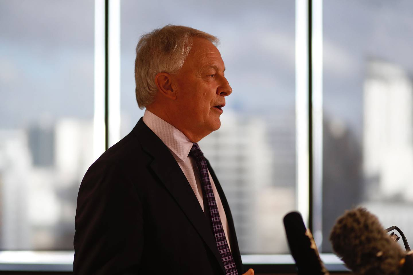 Auckland Mayor Phil Goff. Photo / Dean Purcell