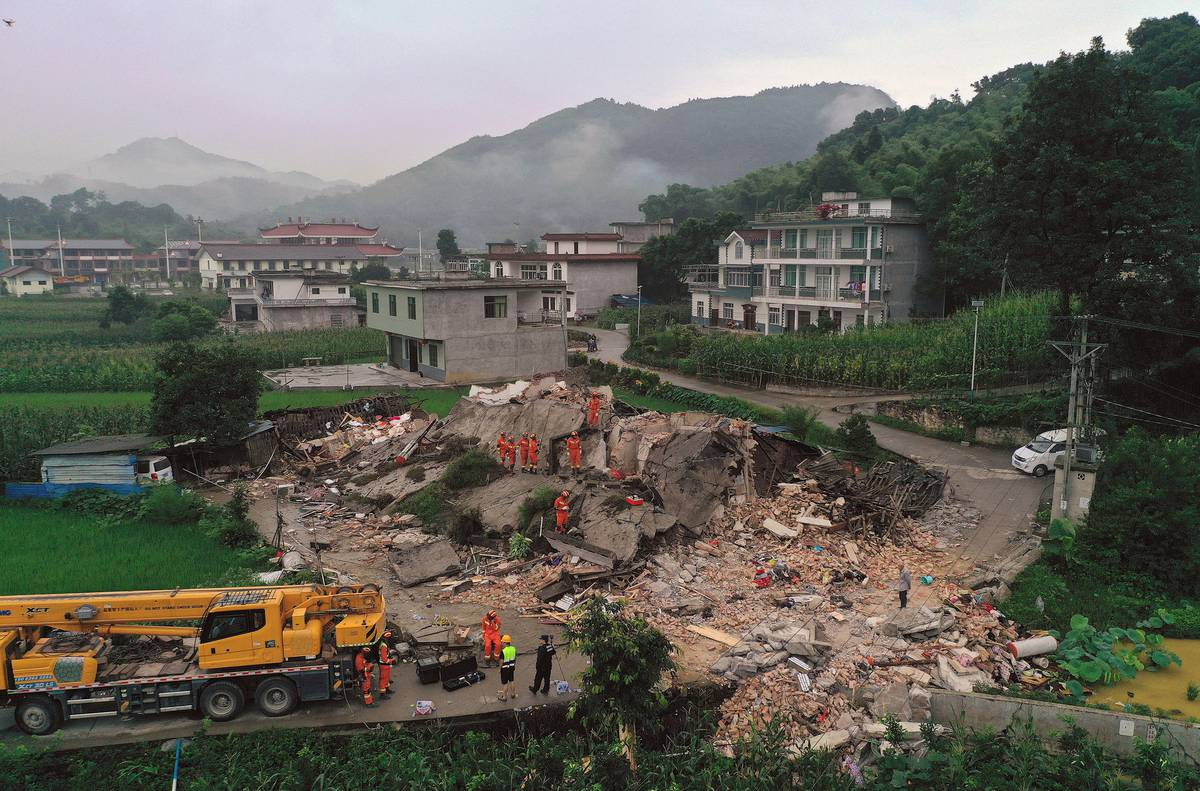 Strong earthquake kills 11, injures 122 in China