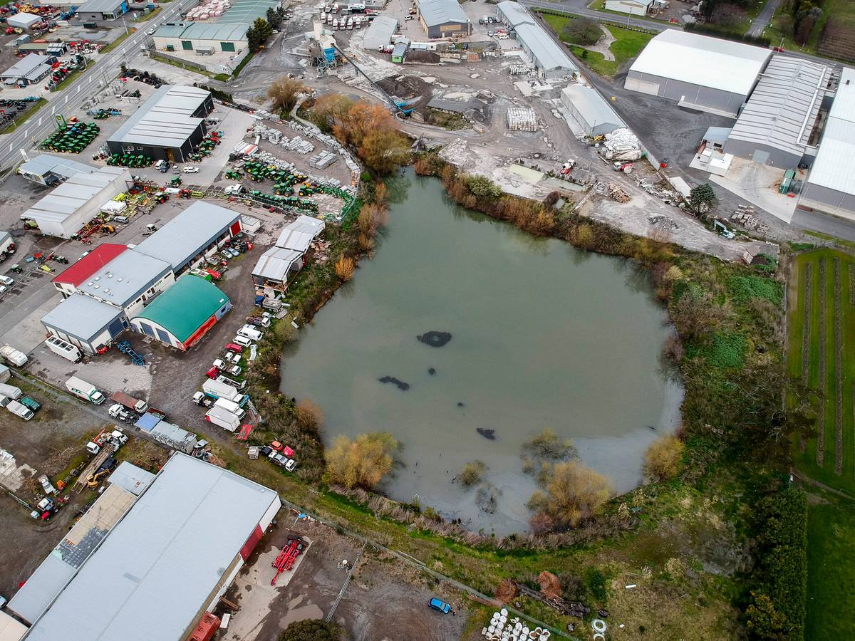 Lowe's Lake set to be filled next year after Hastings District Council stormwater decision