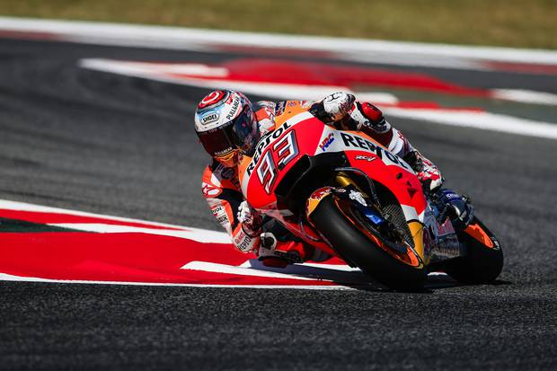 Will it be the Marc Marquez show again in 2018? Photo / Getty Images