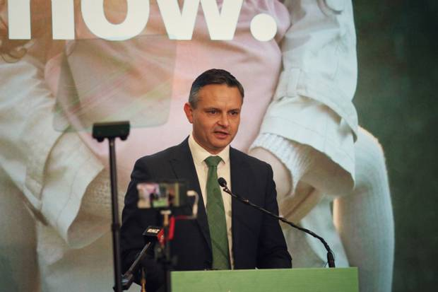 Greens co-leader James Shaw has launched their agriculture policy. Photo / Supplied