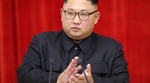 A South Korean diplomat has sensationally claimed that Kim Jong-un is in a coma and his sister is set to take control of North Korea. Photo / Getty