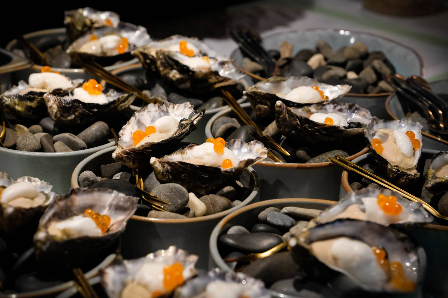 Enjoy New Zealand's finest culinary events, such as these oysters at Visa Wellington on a Plate. Photo / Supplied