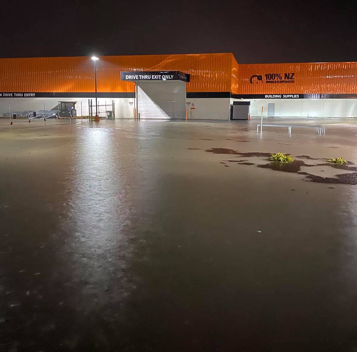 Whangārei Mitre 10 MEGA suffers flood damage estimated in the tens of thousands