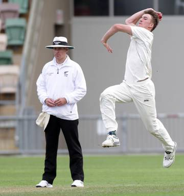 ca7c8a2696d0 ... Blair Tickner isn t shy to defy gravity to extract extra bounce and  pace with