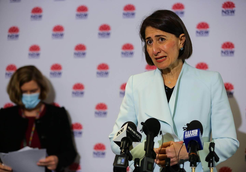 NSW Premier Gladys Berejiklian. Photo / Getty Images