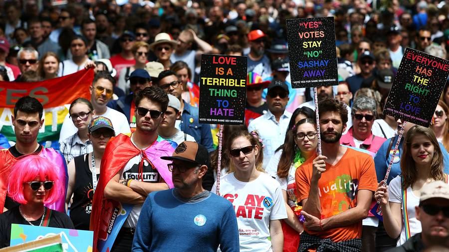 Australians Vote 'Yes' On Gay Marriage