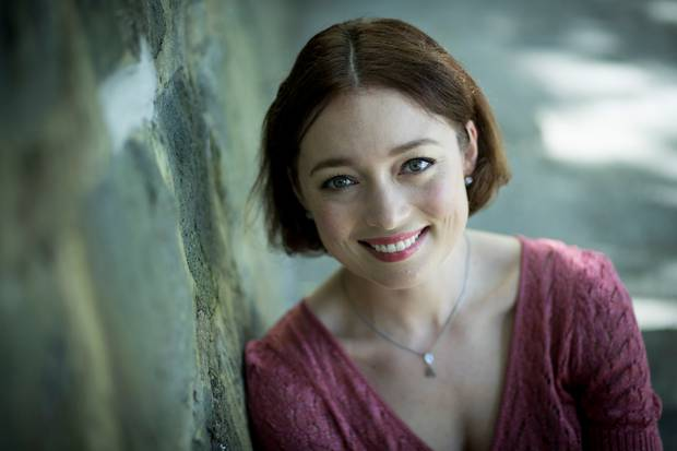 Antonia Prebble is urging people to become a Kiwi Kid sponsor. Photo / Dean Purcell