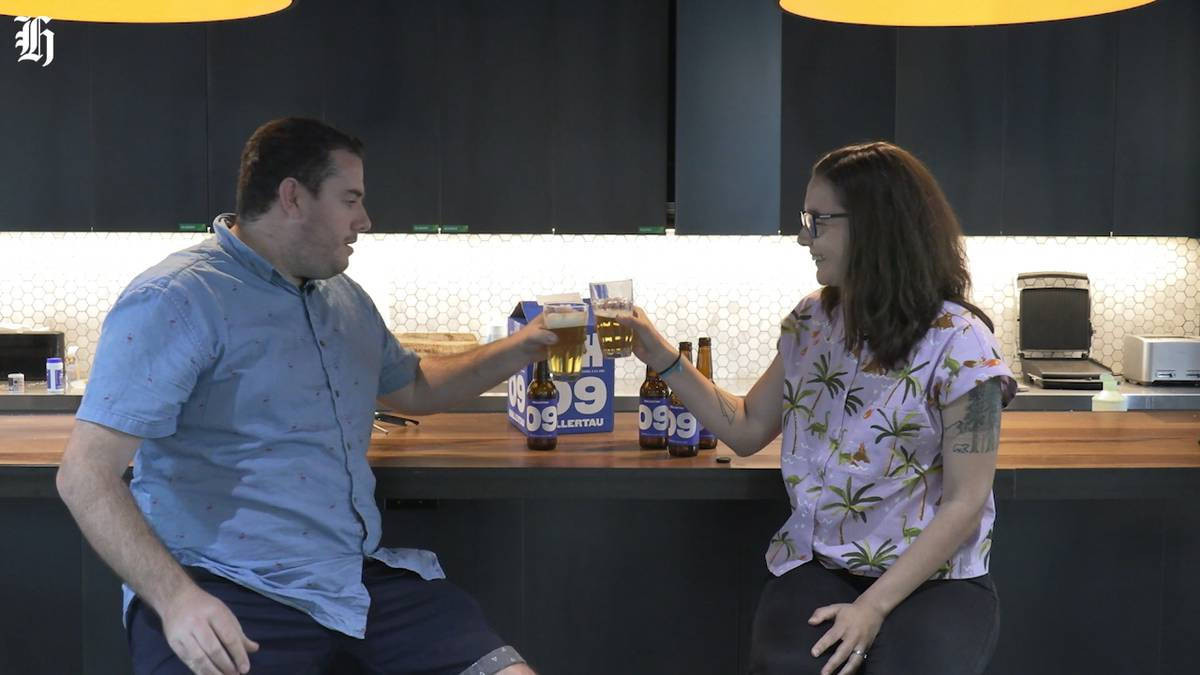 Auckland's new local beer the 09 gets a taste test