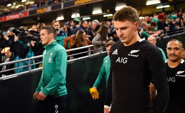 Beauden Barrett's next move will be intensely scrutinised. Photo / Getty Images