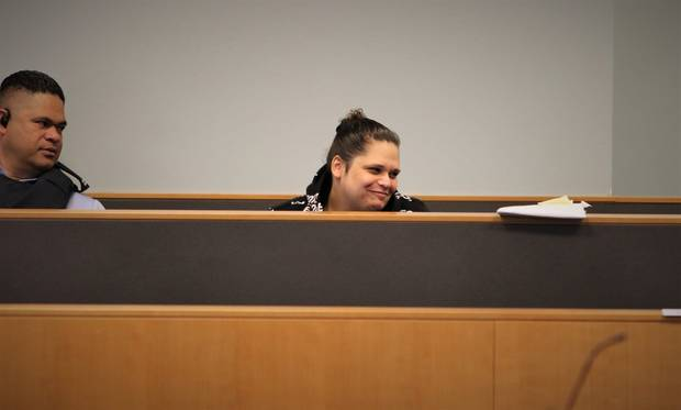 An immunity witness told the jury Ashley Winter was the ringleader at the house when Pairama died. Photo / Sam Hurley