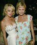 Lindsay Lohan and Paris Hilton. Photo / Getty Images