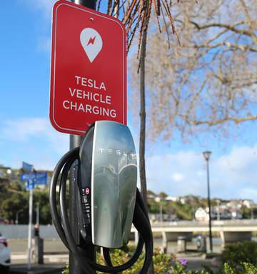 Second Electric Vehicle Charging Station For Whanganui Nz