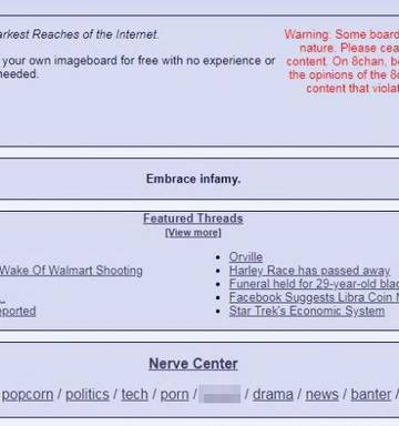 8chan: The forum that's ground zero for extremists and mass