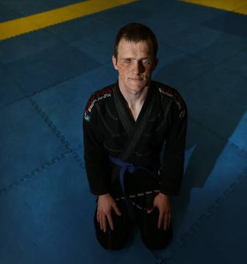 Blind wrestler fighting for a shot at the top - NZ Herald