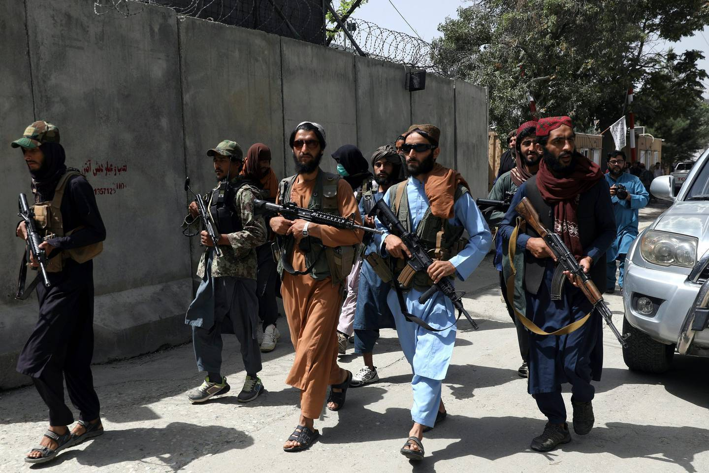 Graphic images of Taliban attacks on journalists in Afghanistan have been shared after five reporters were arrested. Photo / AP