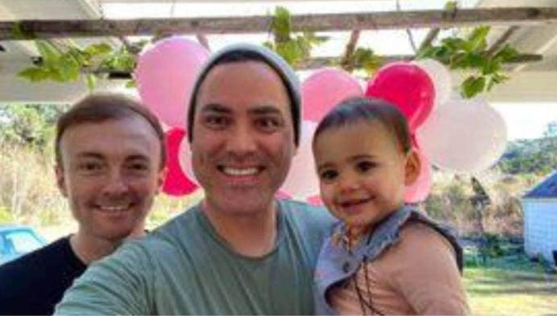 Tim, Poroutu and Te Awa. Photo / RNZ
