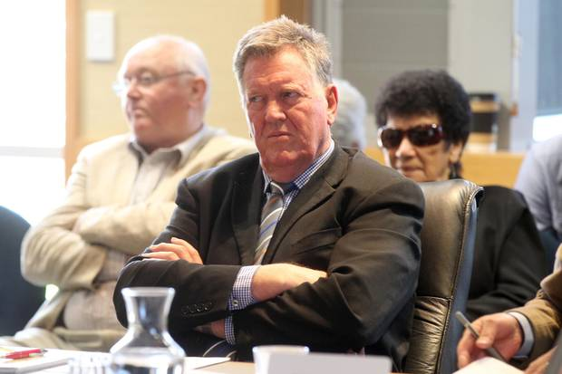 Hawke's Bay Regional Councillor Rick Barker says he won't be relocating to the West Coast to chair the district's DHB. Photo / Duncan Brown