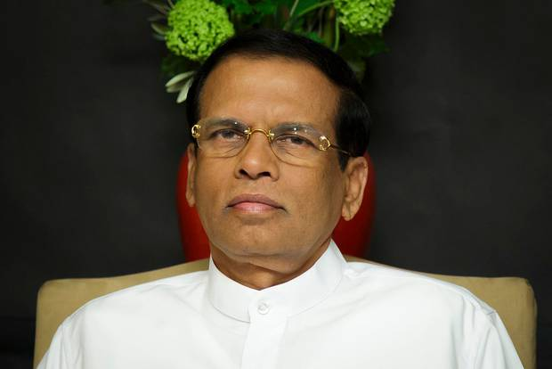 Sri Lankan President Maithripala Sirisena. Photo / Getty Images