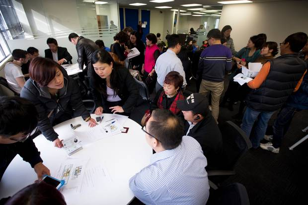 Chinese buyers once featured strongly in the Auckland housing market. Photo / File