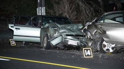 the blind side car accident