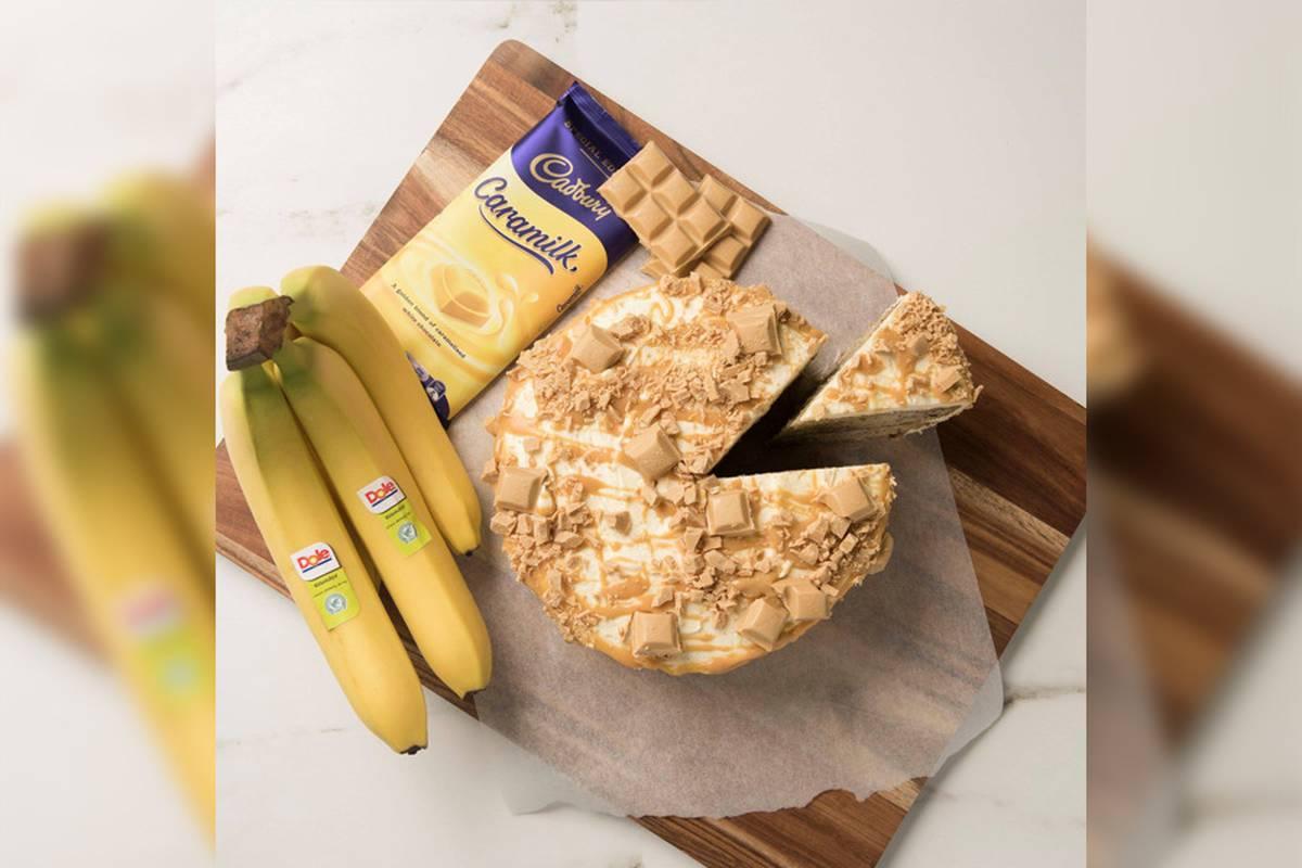 The Cadbury Caramilk banana cake recipe that people are going wild for