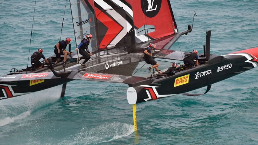 Sweden beat New Zealand to level America's Cup duel