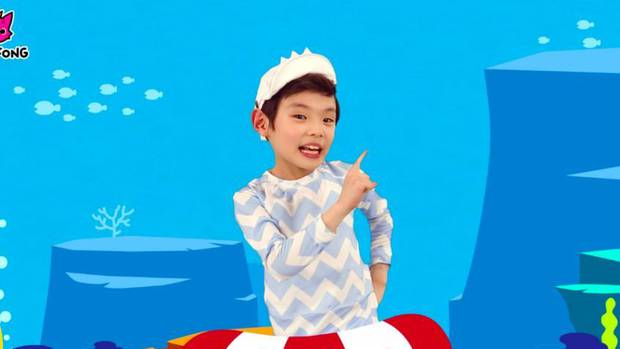 The Baby Shark dance is one of the biggest viral hits of all time. Photo / Pinkfong