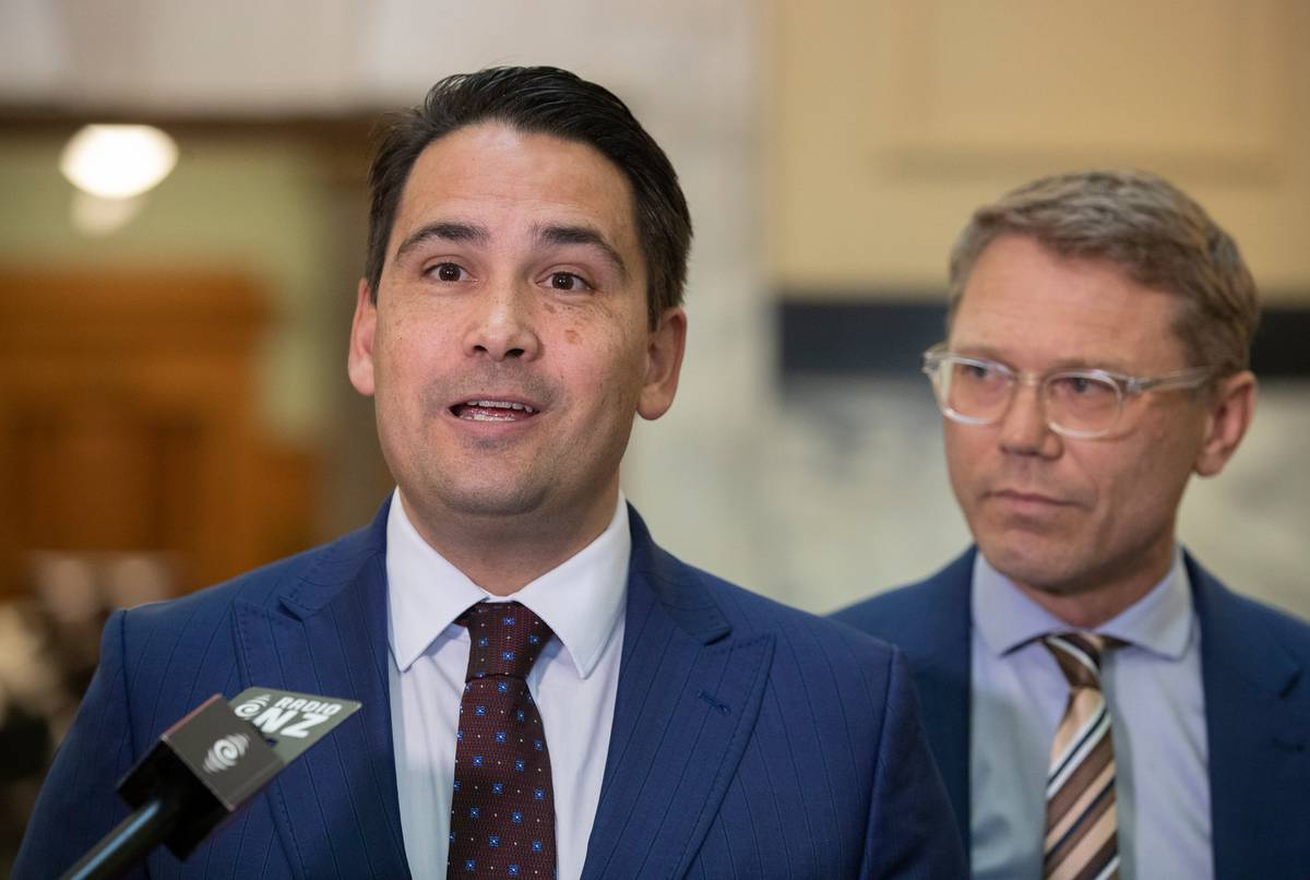National's Simon Bridges says the Government pushing out its ETS timeframe is a 'backdown'