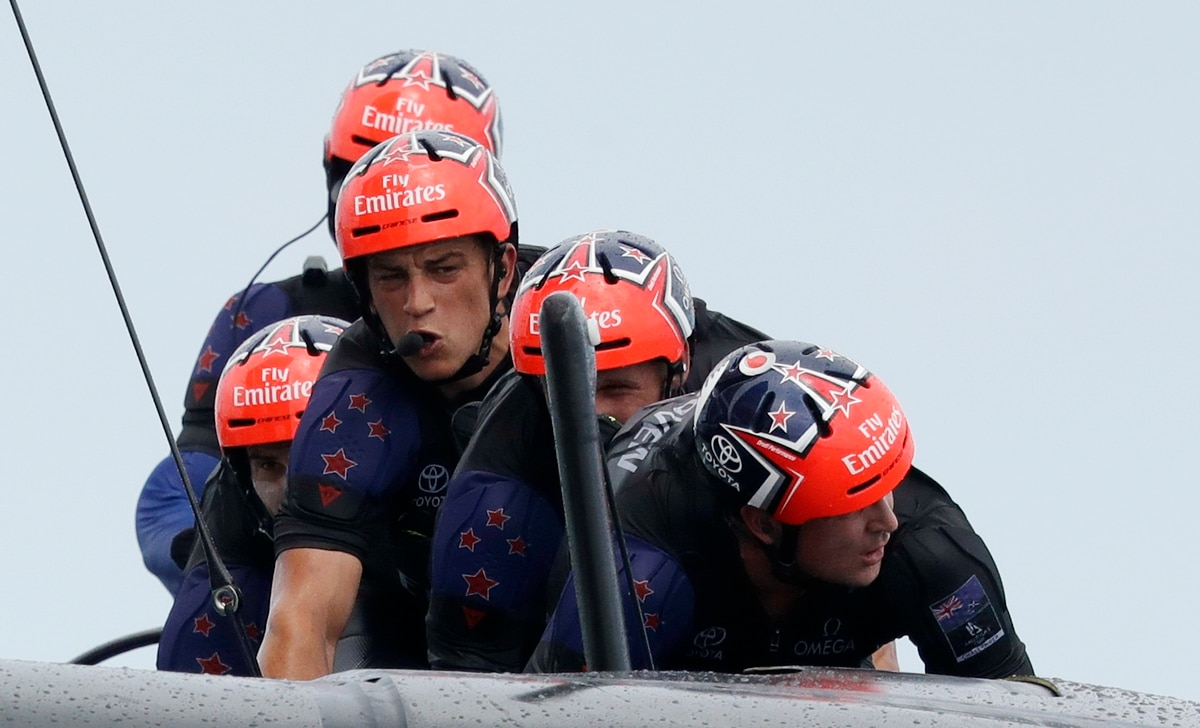 America's Cup: Why Team New Zealand aren't scared of match point