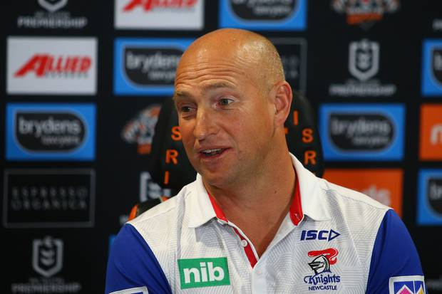 Nathan Brown was previously coach of the Newcastle Knights. Photo / Getty