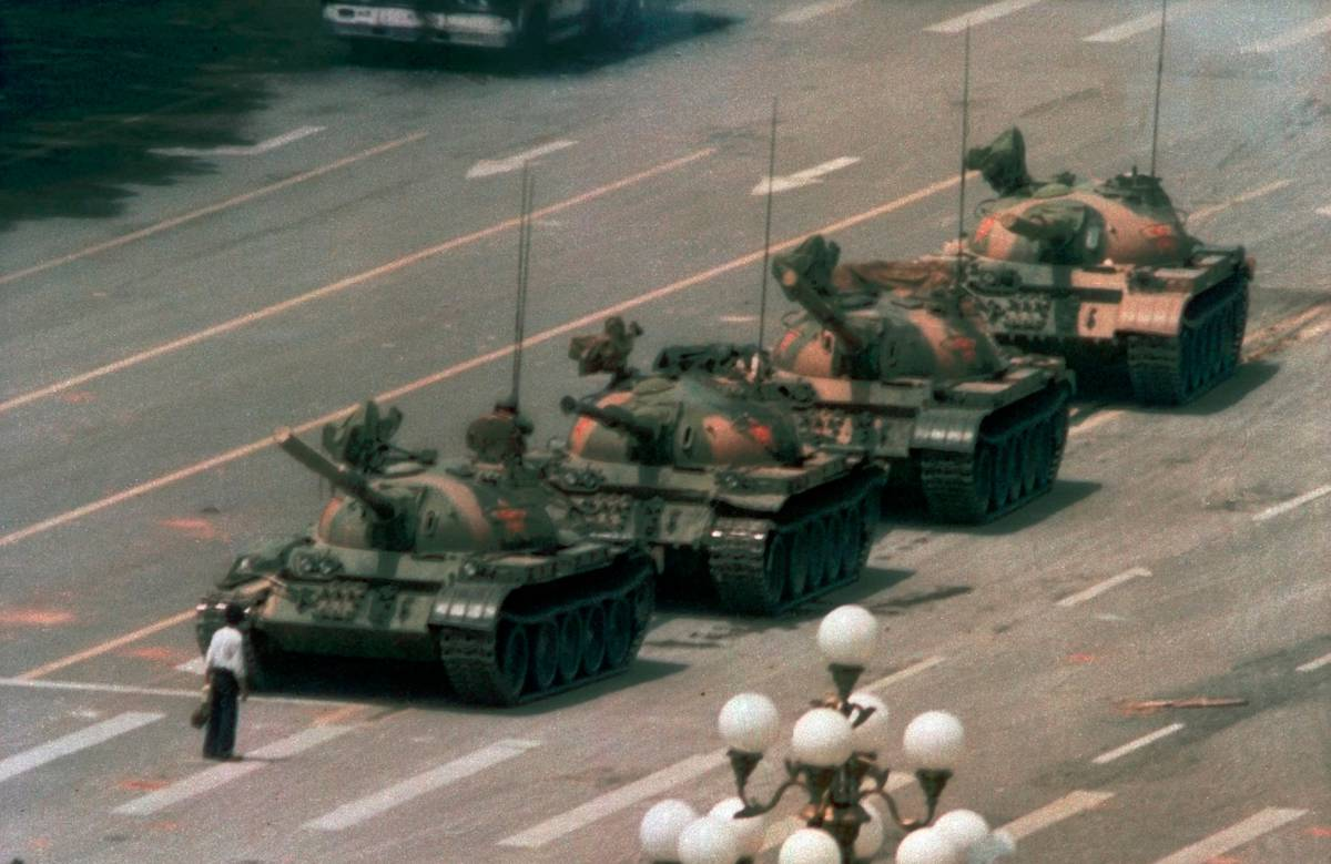 China finally says unspeakable words as iconic photo of Tiananmen Square massacre draws 'blank stares' 30 years later