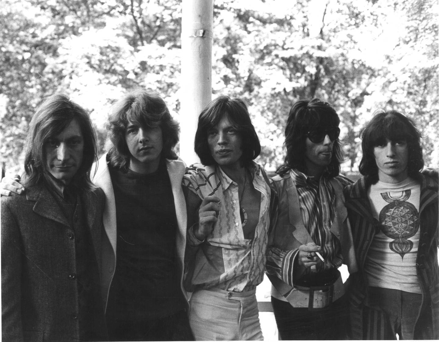 The Rolling Stones i1969:  (From left ) Charlie Watts, Mick Taylor, Mick Jagger, Keith Richard , Bill Wyman. Photo / File