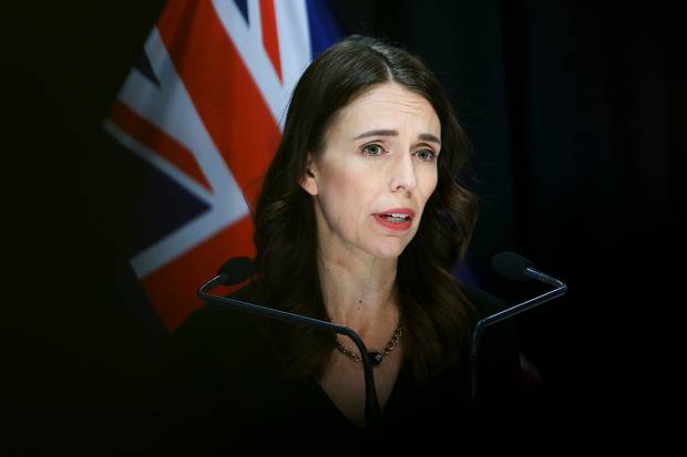 Prime Minister Jacinda Ardern is revealing Cabinet's decision about moving to alert level 2 at 4pm today. Photo / Pool
