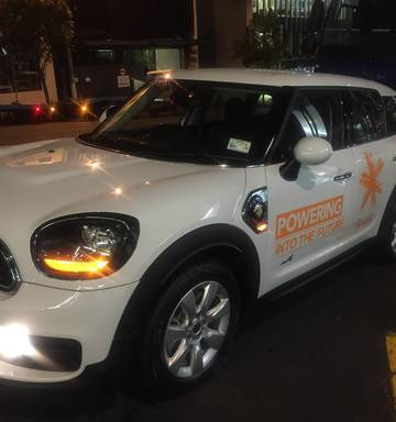 Spark Powering Into The Future Fleet Of Mini Countryman Plug In