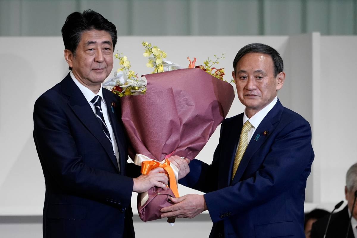 Yoshihide Suga wins party vote, all but assuring election as Japan PM - NZ Herald