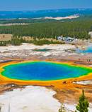 An enormous pool of magma sits underneath Yellowstone National Park. Photo / 123rf