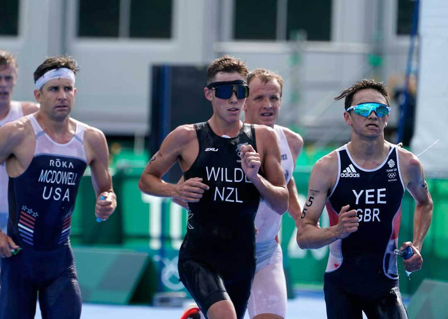 Hayden Wilde claimed New Zealand's first medal in Tokyo. Photo / AP