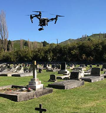 Ruapehu District Council creating virtual graves families can visit on