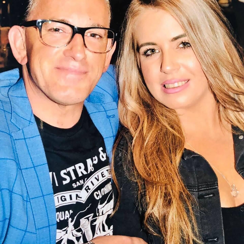 Carlo Massetti and Danielle Prebble. Photo / Supplied
