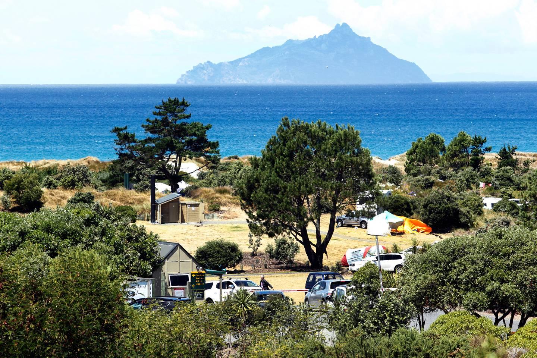DoC camping ground at Uretiti Beach. Photo / Tania Whyte