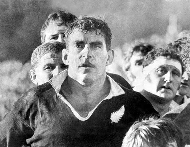 Colin Meads in action during the first test at Carisbrook, Lions Tour 1971. Photo / New Zealand Herald File Photograph
