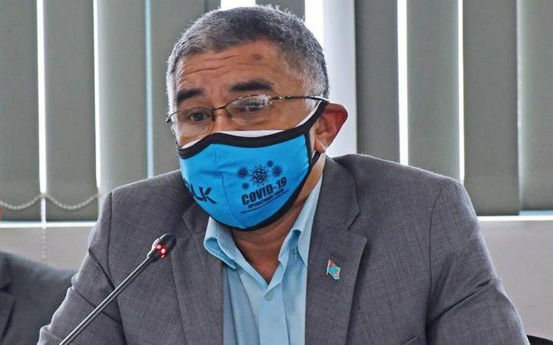 Health Secretary Dr James Fong. Photo / Fijian Government via Facebook